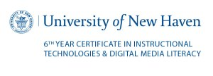 University of New Haven 6th Year Certificate in Instructional Technologies & Digital Media Literacies Logo