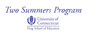 UConn Neag School of Education Two Summers Program logo